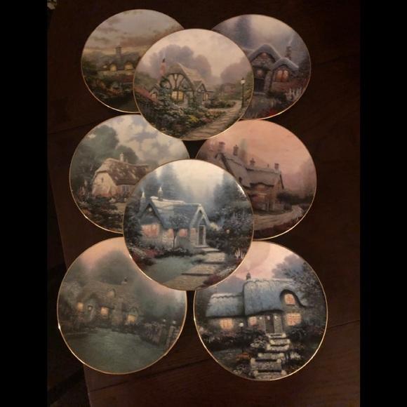 Thomas Kinkade Limited Edition English Cottages